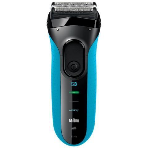 BRAUN Rasoio Elettrico Ricaricabile Series 3010 Wet & Dry