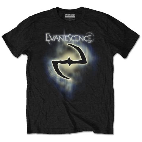 ROCK OFF Evanescence - Classic Logo (T-Shirt Unisex Tg. L)