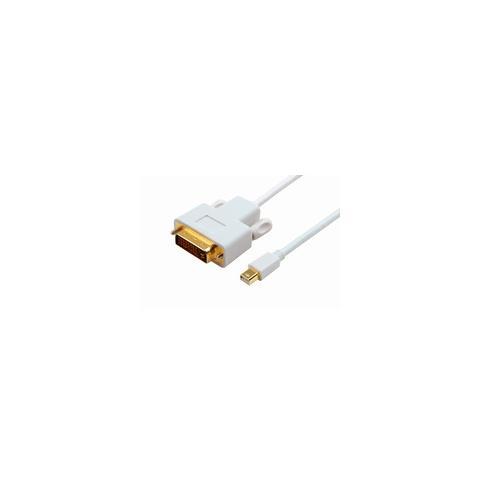 Microconnect Mini Displayport - DVI, M / M, 1m, mini DisplayPort, DVI-D