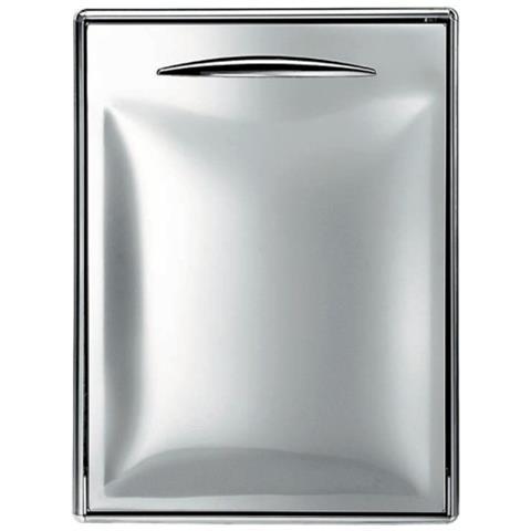 Sportello Porta Acciaio Inox Foro Banco Bar Cm 44,5x70,4 Cerniera Sinistra Rs9509