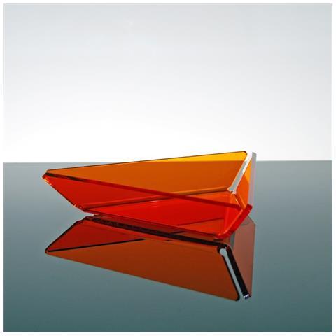 Ciotolina Per Aperitivi Finger Food Snack Design Moderno In Plexiglass Bao - Colore Arancione