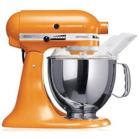 Image of 5KSM150PSETG Robot da Cucina Planetaria Capacità 4.8 Litri Potenza 300 Watt Colore Arancione
