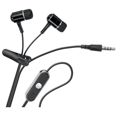 GOOBAY SB-HP 2283 - Cuffie Auricolari con Microfono e Pulsante per Risposta per iPhone