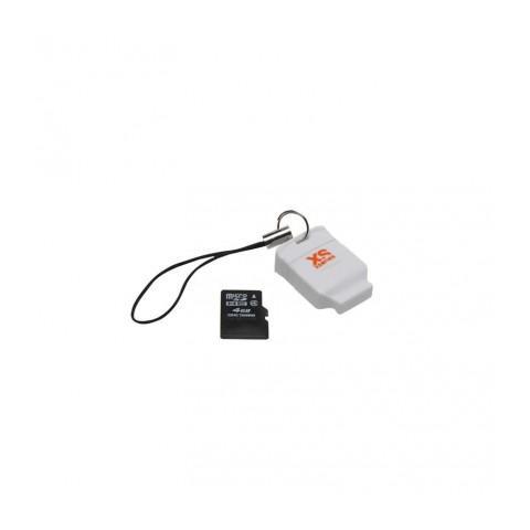 Xsories Lettore Schede Micro SD (Micro SD 4 Gb inclusa)