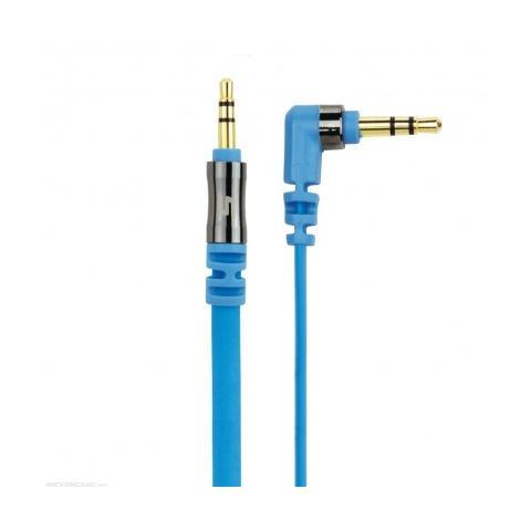 SCOSCHE flatOUT cavo audio stereo ausiliairio AUX 1 metro - blu