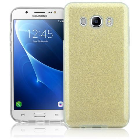 FONEX Chic Soft Cover in Morbido TPU con 3 Card Glitterate per Samsung Galaxy J5 (6)