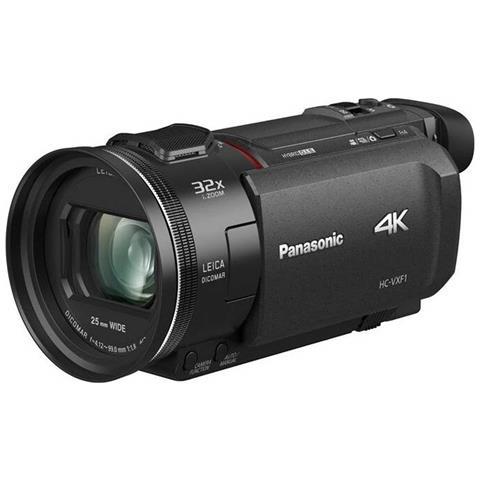 Image of Videocamera HC-VXF1 8,57 MP 4K Ultra HD Colore Nero