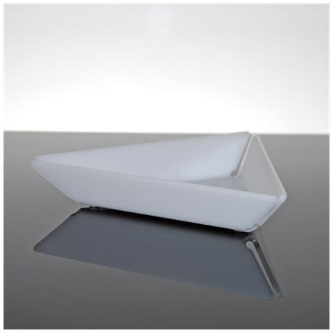 Ciotolina Per Aperitivi Finger Food Snack Design Moderno In Plexiglass Bao - Colore Bianco