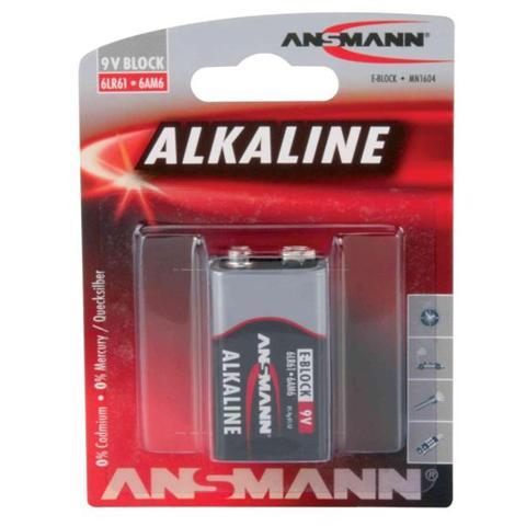 DIGITUS 1515-0000 Batteria Alcaina da 9V (Transistor) 6LR61