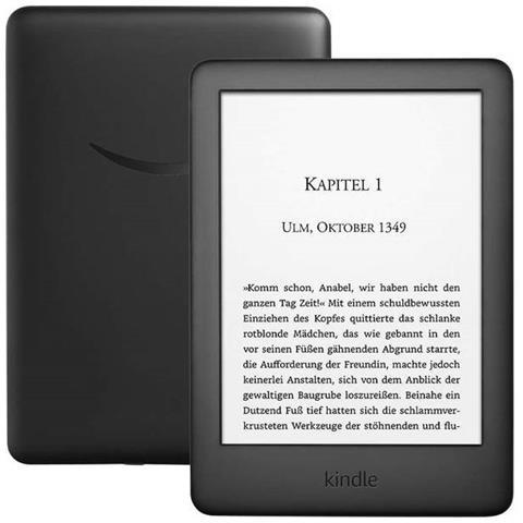 Lettore E-Book 6'' Kindle Touch Screen 4GB Wi-Fi Colore Nero