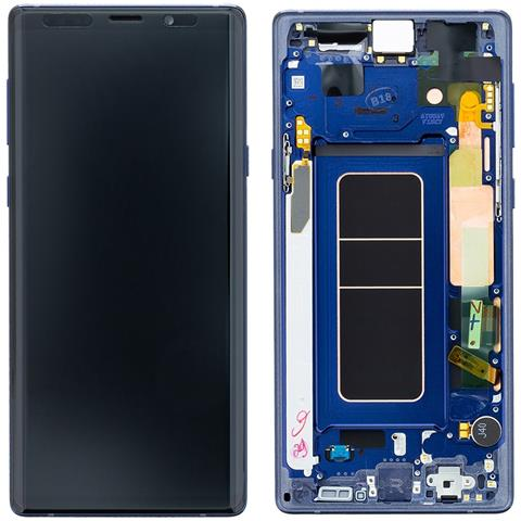 Image of Ricambio Lcd Display Schermo Screen Touch Blu Samsung Galaxy Note 9 Sm-n960