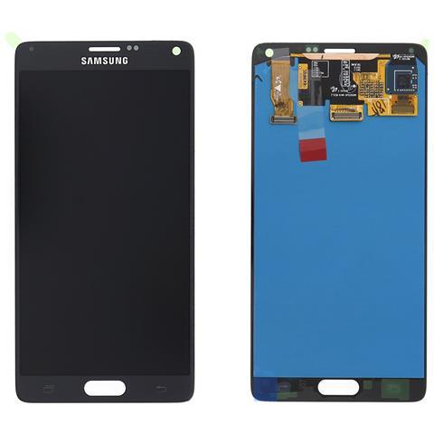 Image of Ricambio Schermo Display Originale Lcd Touch Nero Per Samsung Galaxy Note 4