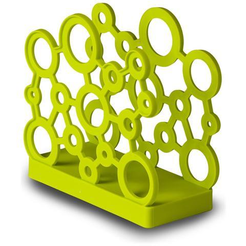 GiòStyle Portatovaglioli forme in verde