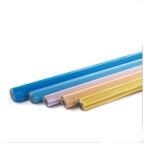 Decora Fogli In Alluminio Pieghettato 3 Pz Decora - Blu