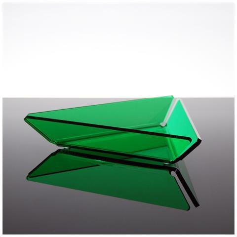 Ciotolina Per Aperitivi Finger Food Snack Design Moderno In Plexiglass Bao - Colore Verde