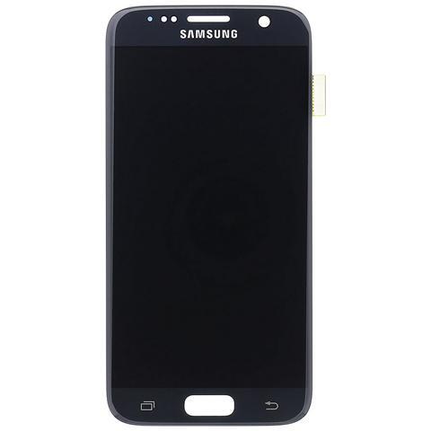 Image of Lcd Touch Display Schermo Nero Originale Samsung Per Galaxy S7 Sm-g930 + Kit