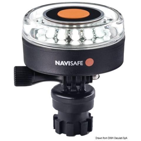 Lampada Navisafe 360° bianca innesto a baionetta