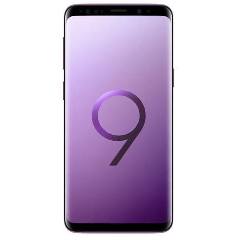 "SAMSUNG Galaxy S9 Viola 64 GB 4G / LTE Impermeabile Display 5.8"" Quad HD Slot Micro SD Fotocamera 12 Mpx Android Tim Italia"
