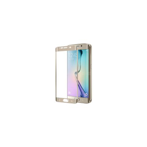 CELLY Full Glass Galaxy S6 Edge Gold