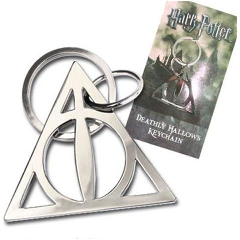 NOBLE COLLECTION Portachiavi Harry Potter Metal Keychain Deathly Hallows 5 Cm