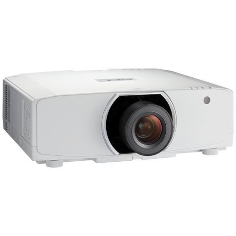 NEC Proiettore PA653U 3LCD WUXGA 6500 ANSI lm Contrasto 8000:1 Porta USB 1 / 2 Ingressi HDMI 3D Full HD