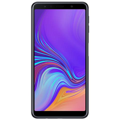 Galaxy A7 (2018) Nero Dual Sim Display 6'' FHD+ Octa Core Ram 4GB Storage 64GB +Slot MicroSD Wi-Fi / 4G LTE Fotocamera 24MP Android - Tim Italia