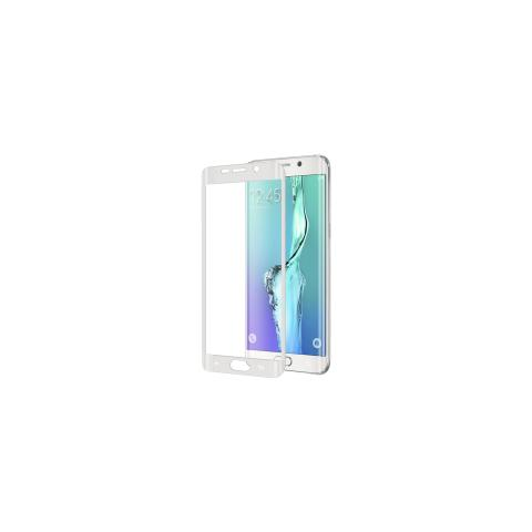 CELLY Full Glass Galaxy S6 Edge White