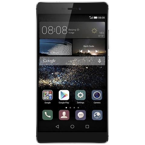 """HUAWEI Ascend P8 Grigio 16 GB 4G / LTE Display 5.2"""" Full HD Slot Micro SD Fotocamera 13 Mpx Android Vodafone Italia"""