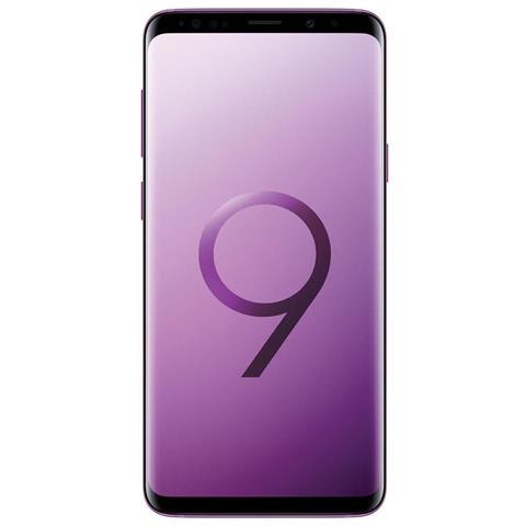 "SAMSUNG Galaxy S9+ Viola 64 GB 4G / LTE Impermeabile Display 6.2"" Quad HD Slot Micro SD Fotocamera 12 Mpx Android Tim Italia"