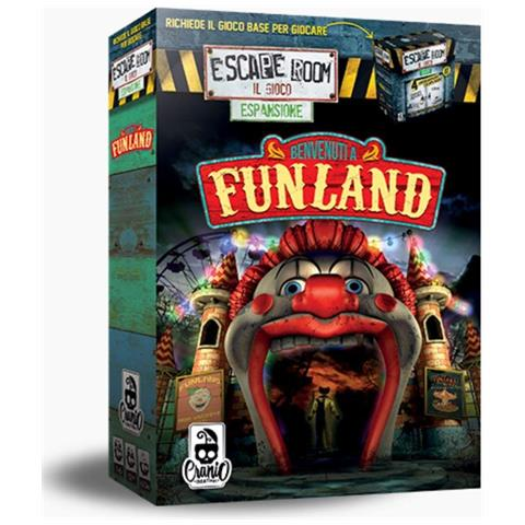 Cranio Creations Escape Room Esp: Benvenuti a Funland