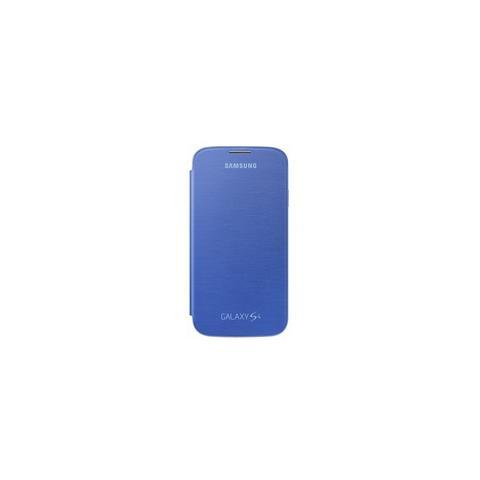 SAMSUNG Flip Cover Originale per Galaxy S4 - Blu