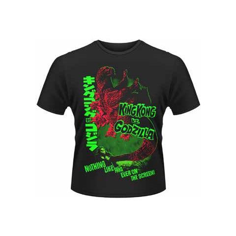 PLASTIC HEAD Godzilla - Godzilla Vs King Kong (T-Shirt Unisex Tg. S)