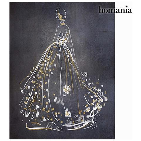 Homania Dipinto Nero Vestito By