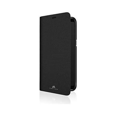BLACK ROCK Flip Cover Custodia colore Nero per Galaxy S9+