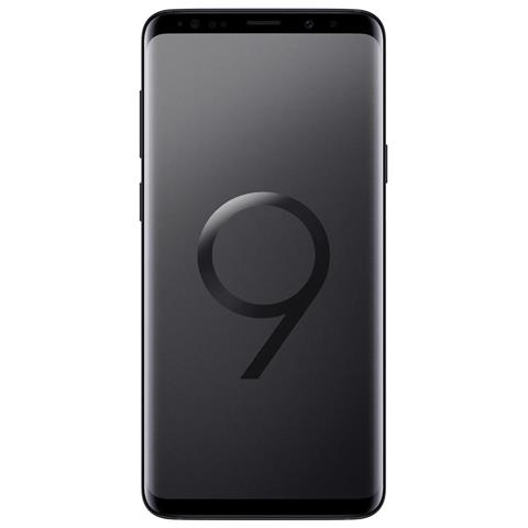 "SAMSUNG Galaxy S9+ Nero 64 GB 4G / LTE Impermeabile Display 6.2"" Quad HD Slot Micro SD Fotocamera 12 Mpx Android Tim Italia"
