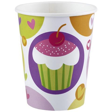 Cupcake - 8 Bicchieri