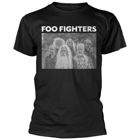 PHM Foo Fighters - Old Band (T-Shirt Unisex Tg. XL)