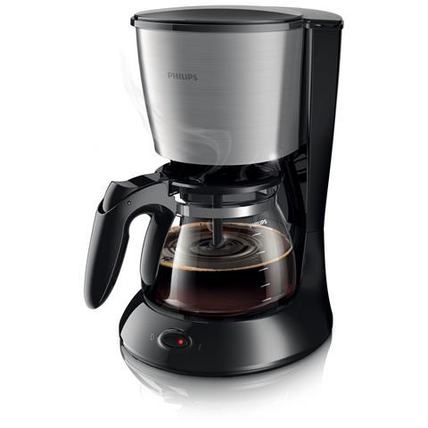 HD7462/20 Macchina Per Caffè Americano 15 Tazze Capacità 1,2 Litri Potenza 1000 W Colore Nero e Metallo