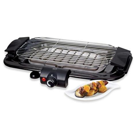 BQS2496 Barbecue Elettrico Potenza 60 x 35 x 5 cm 2000 Watt