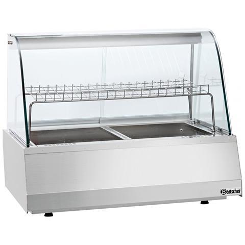 305051 Vetrinetta per alimenti riscaldata 2/1 GN 2,3kW