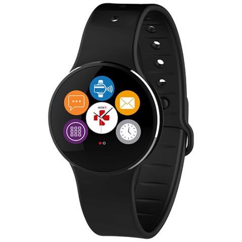 MyKronoz Smartwatch Zecircle 2 Mykronoz Activity Tracker In Alluminio In Grado Di Visualizzare L'ora E Memorizzare I Passi La Distanza E Le Calorie Bruciate
