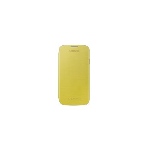 SAMSUNG Flip Cover Originale per Galaxy S4 - Giallo