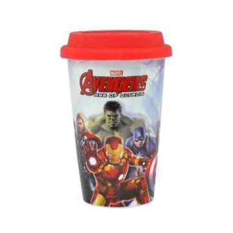 Tazza Avengers Age Of Ultron Travel Mug Group