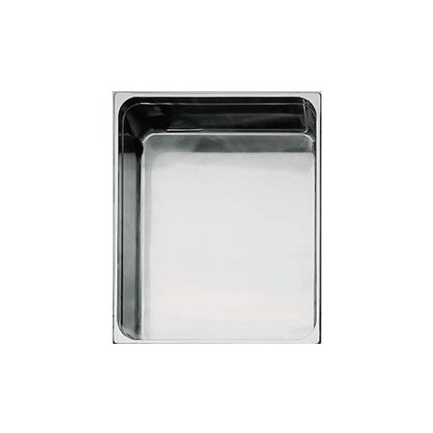 Bacinella Gastronorm Inox Gn 2/1 650x530 P. 40 Mm