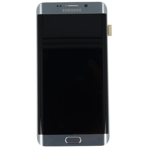 Image of Display Lcd Touch Display Originale Samsung Galaxy S6 Edge Plus Sm-g928f Silver