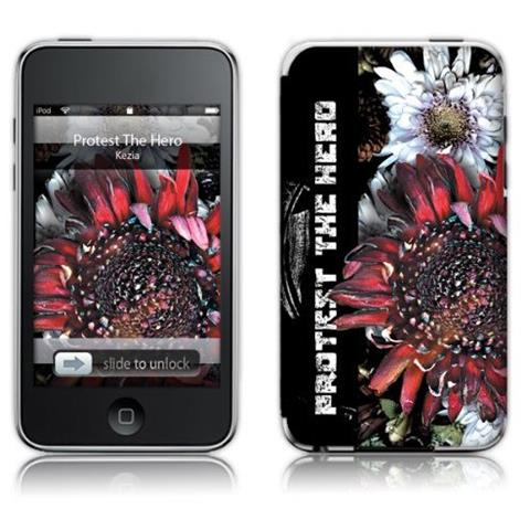 MusicSkins Protest The Hero Kezia For Apple iPod touch 2G / 3G Cover Rosa