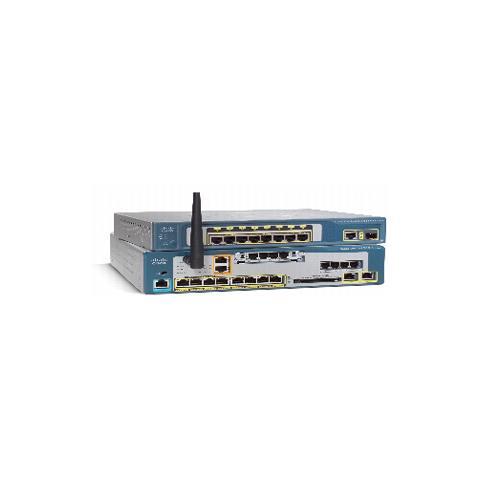 Cisco 8U CME Base CUE+Phone FL w / 4FXO 1VIC, SNMP, H. 323, SCCP, SIP, Ethernet, Fast Ethe...