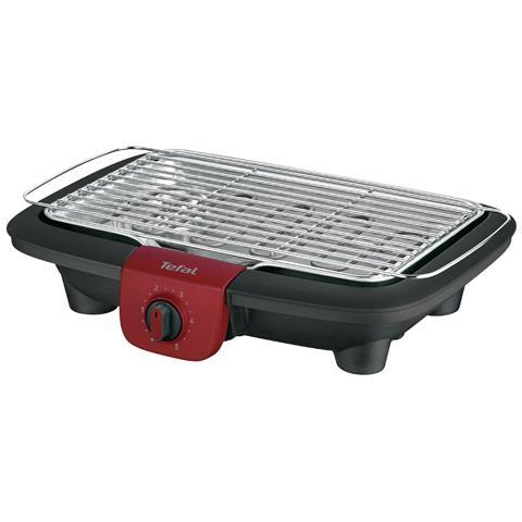 Image of Luminens BG90F5 Barbecue Da tavolo Elettrico 2300W Nero, Acciaio inossidabile barbecue e bistecchiera