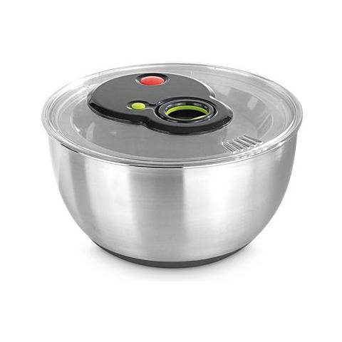 Centrifuga per insalata Turboline in acciaio Inox