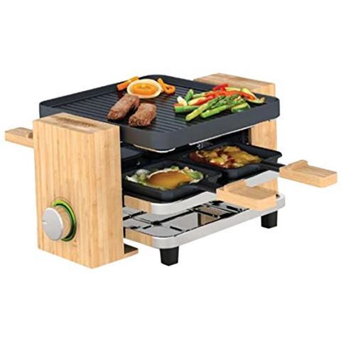 162900 Raclette Pure 4 Potenza 700 Watt